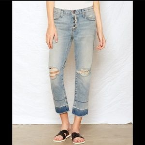 Current/Elliott • The Fling with Exposed Fly Jeans